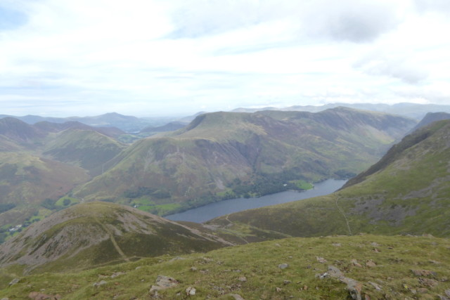 Buttermere, seen from Red Pike's summit