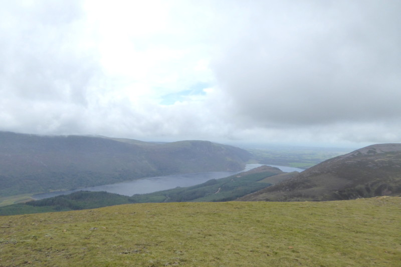 Ennerdale Water and Ennerdale seen from Starling Dodd.