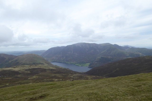 Crummoch Water and Grasmoor seen from Starling Dodd