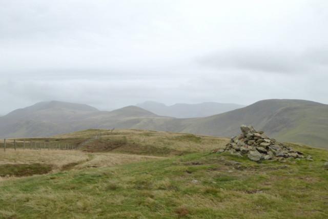 Gavel Fell summit cairn