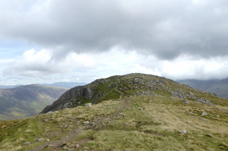 The humped top of High Crag approacheth